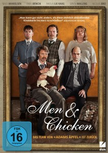 DVD Cover Men & Chicken