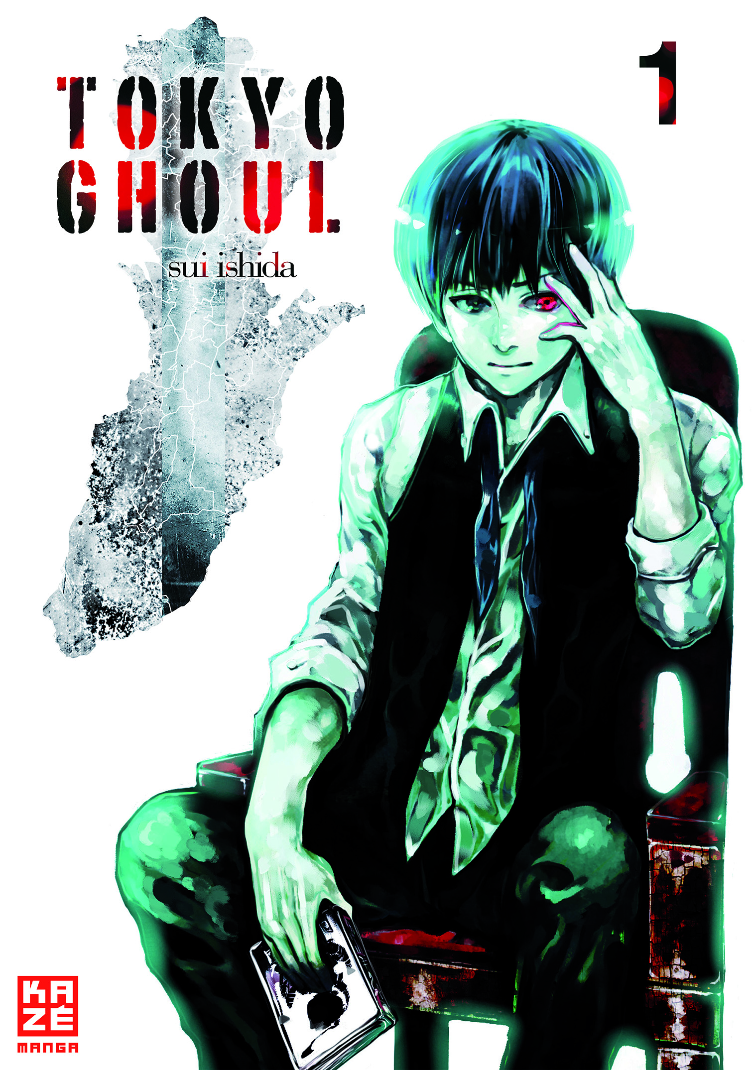 Tokyo Ghoul Band 1 Cover