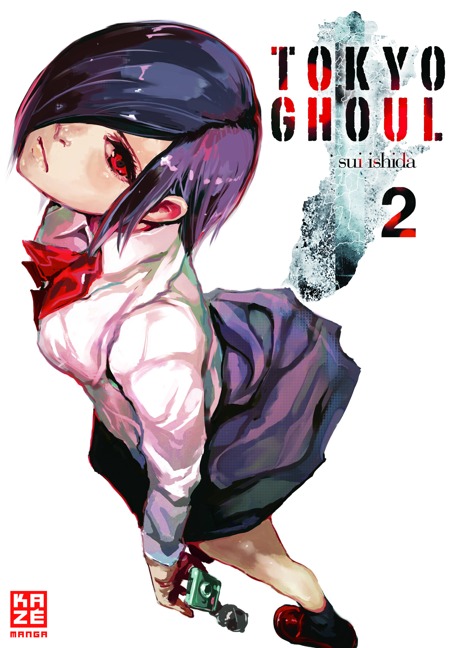 Tokyo Ghoul Band 2 Cover
