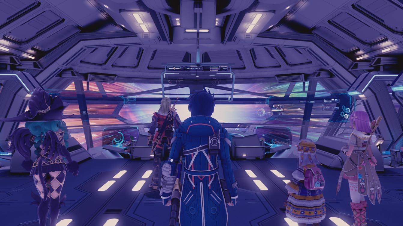 Star Ocean: Integrity and Faithlessness cockpit