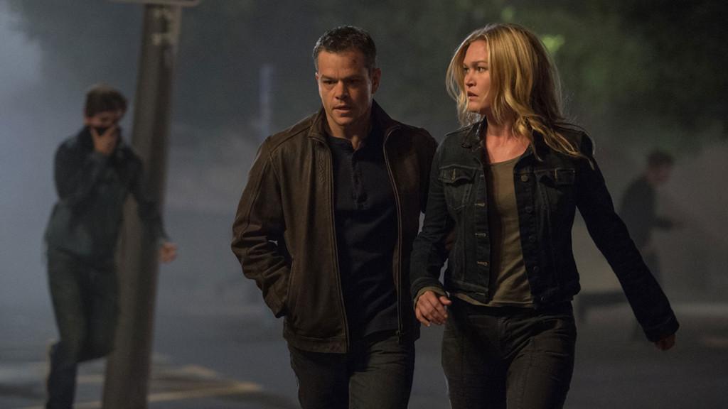 Jason Bourne mit seiner Süßen