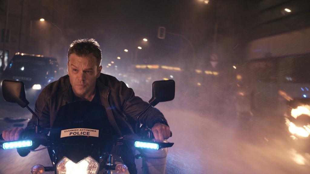 Jason Bourne zieht durch die Straßen
