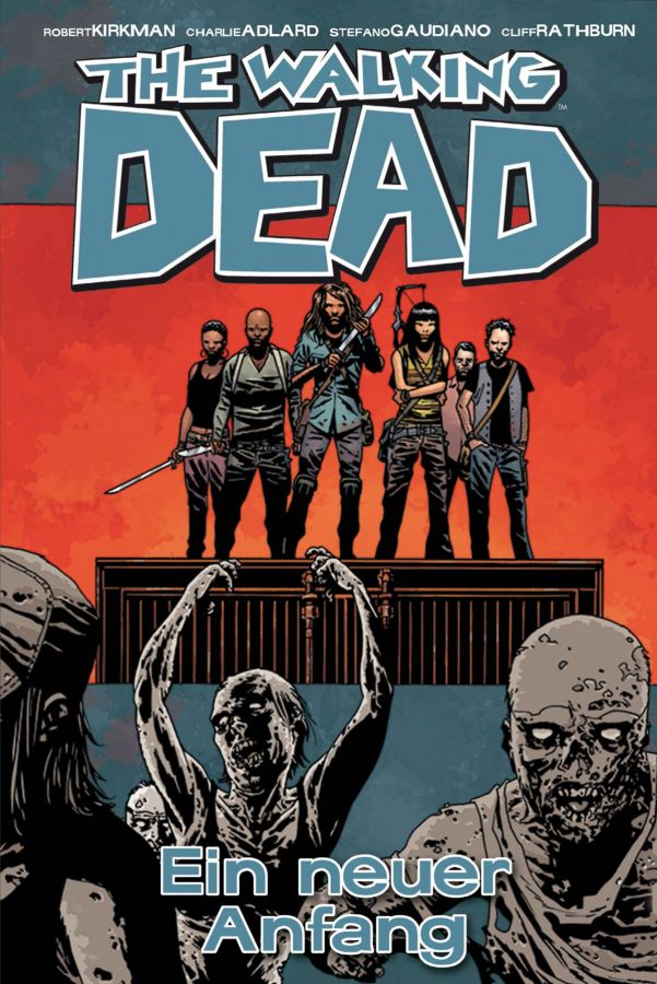 the walking dead 22 cover
