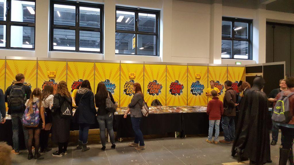 German Comic Con Berlin 2016 Autogrammstunde