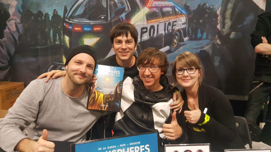 hemispheres german comic con berlin 2016