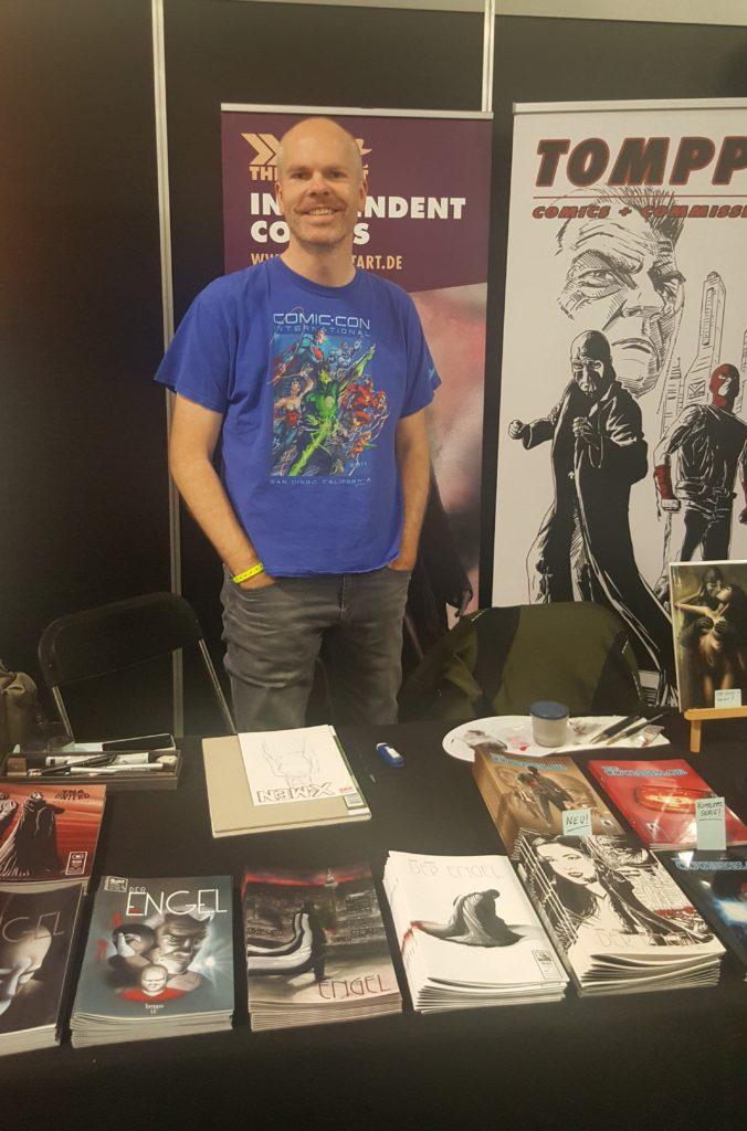 Tomppa German Comic Con Berlin 2016