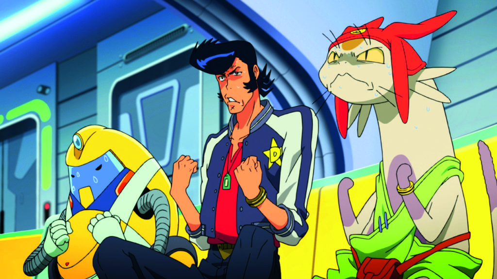 Space Dandy 01