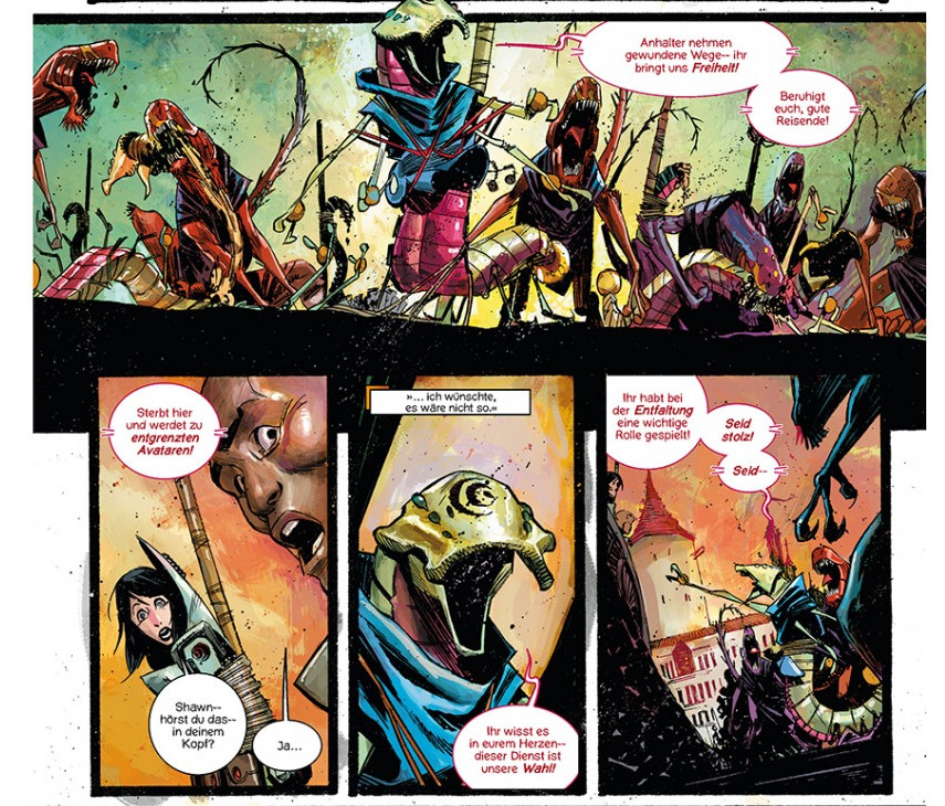 Black Science Comic Review Rick Remender