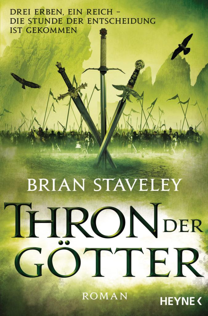 Thron der Goetter von Brian Staveley