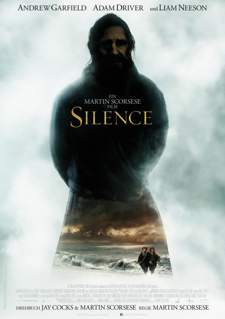 silence filmplakat liam neeson