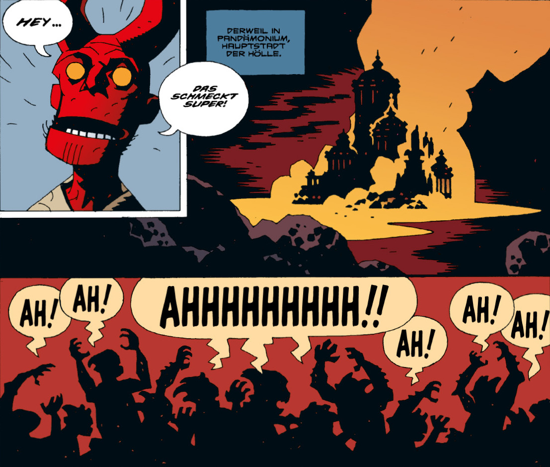 Hellboy Kompendium 2 Comic