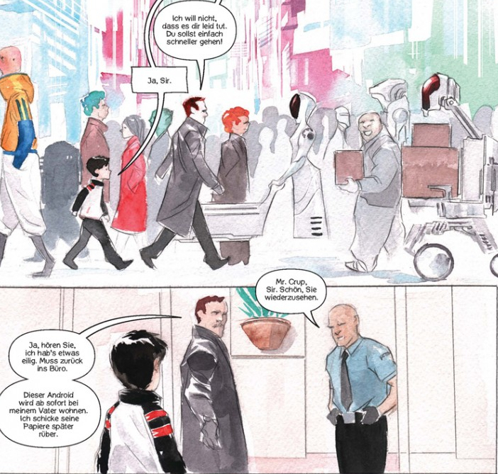 Descender Comic Splitter Verlag