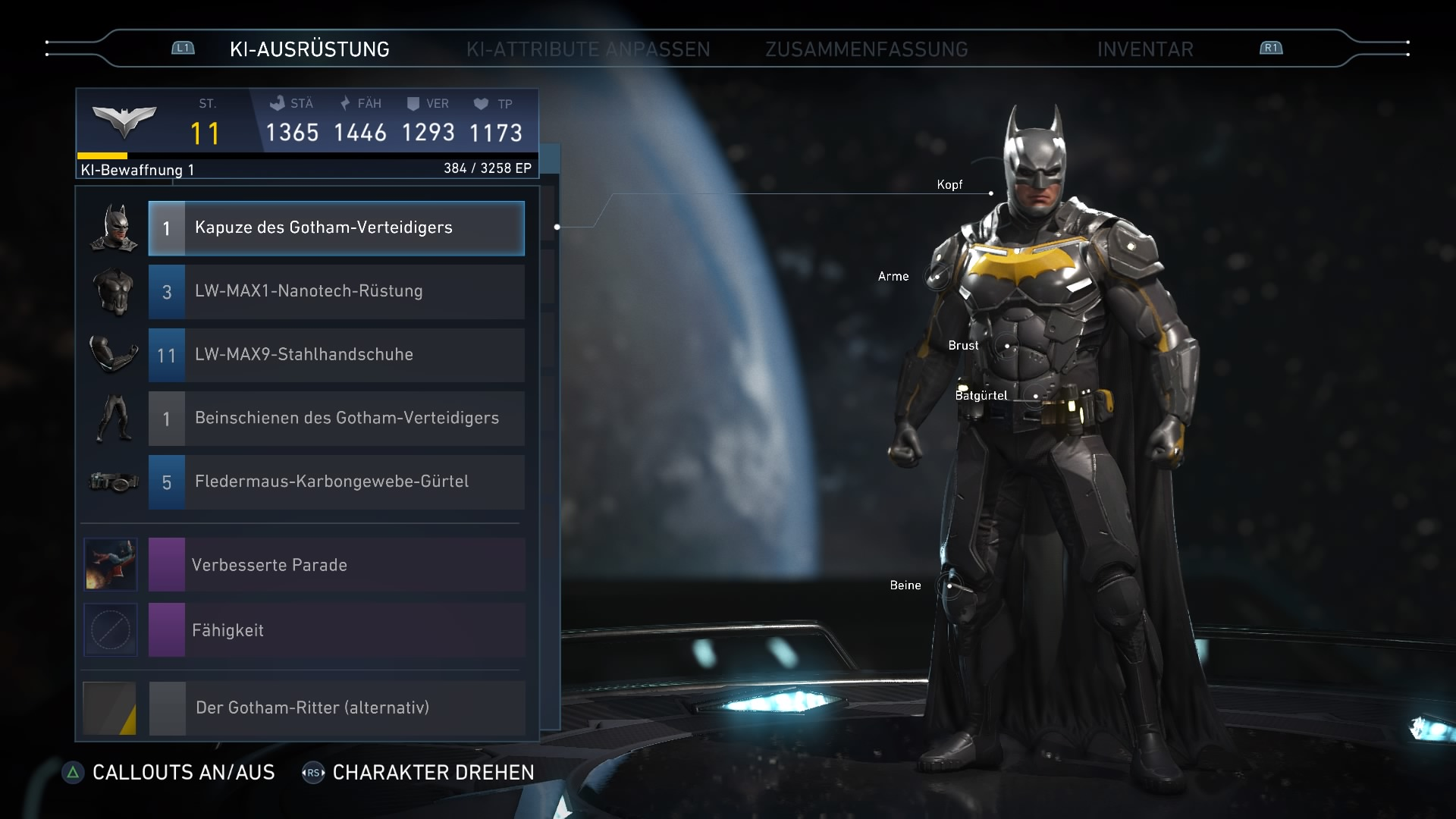 Injustice 2 Batman Game