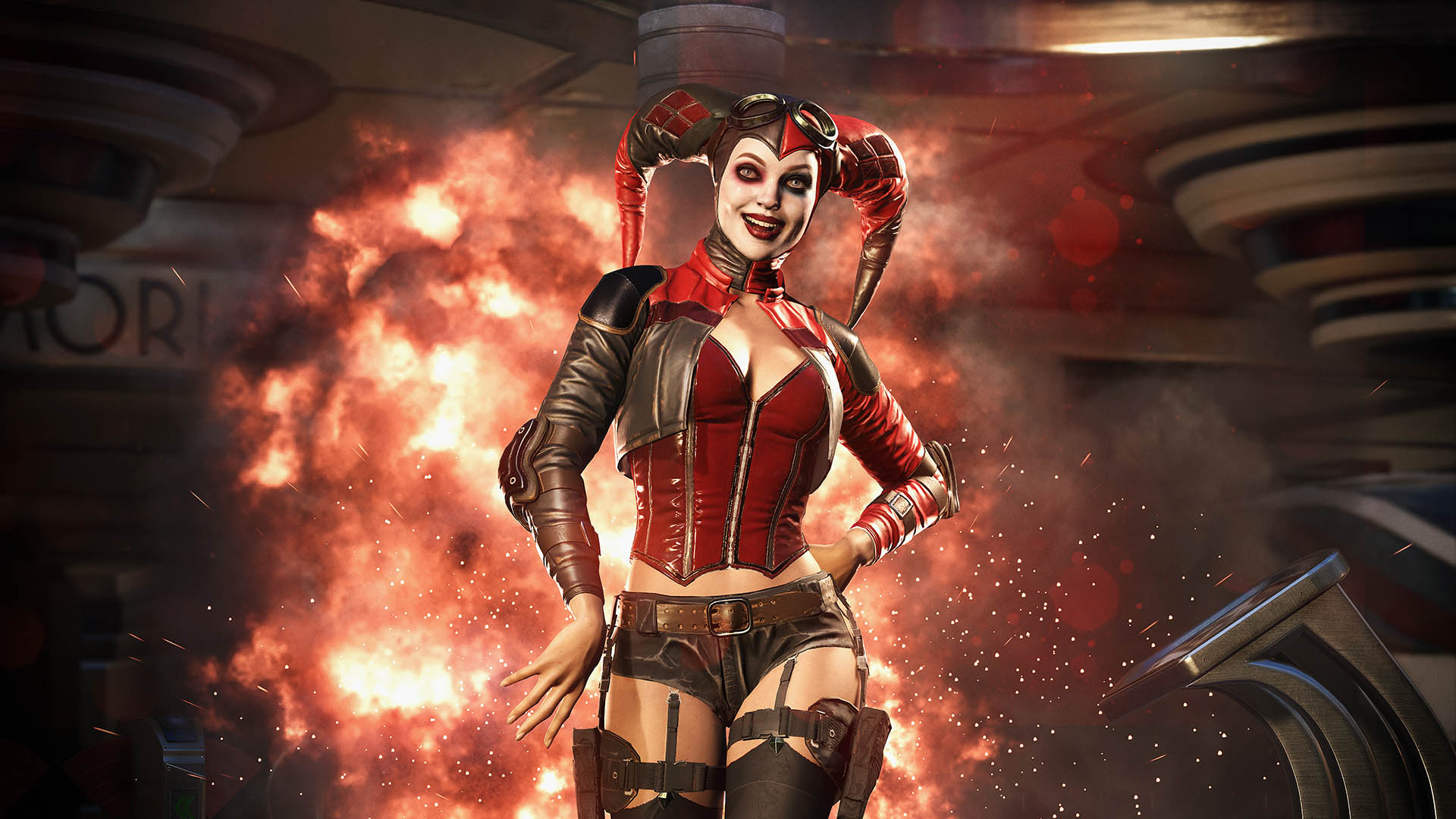 Injustice 2 Harley Quin Game