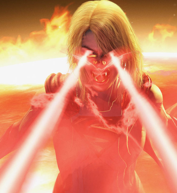 Injustice 2 Supergirl Game