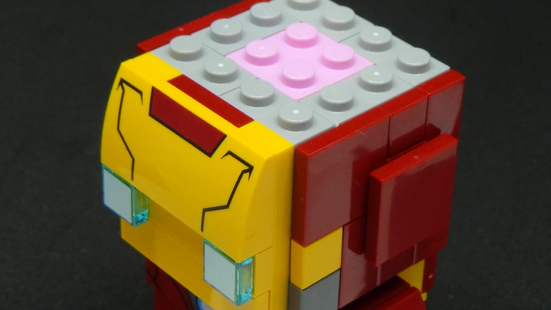 Brickheadz Iron Man
