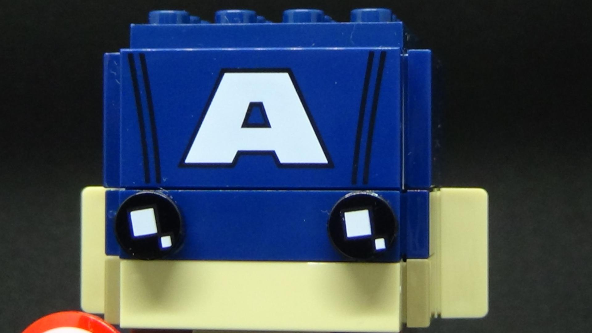 Brickheadz Captain America
