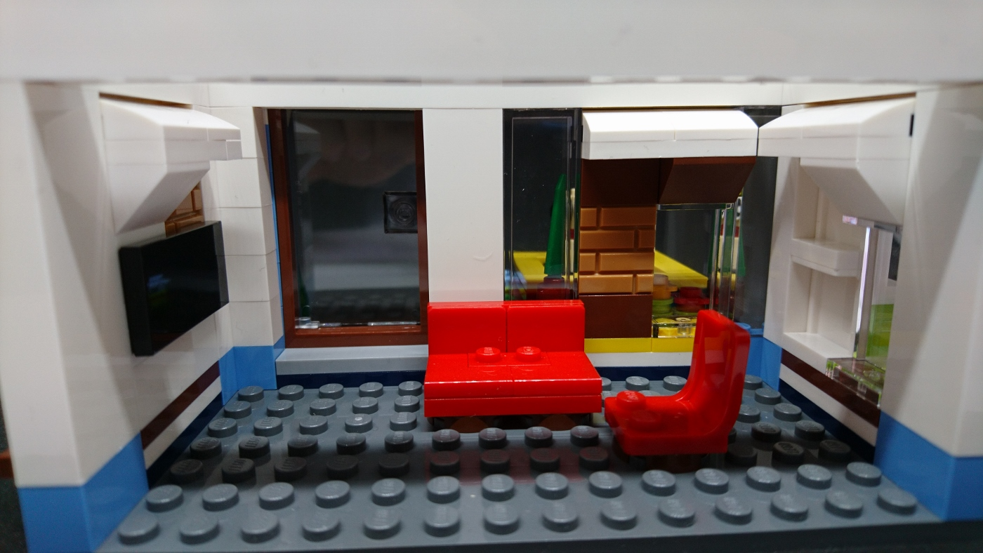 Lego creator review modernes zuhause modular system for Modernes lego haus