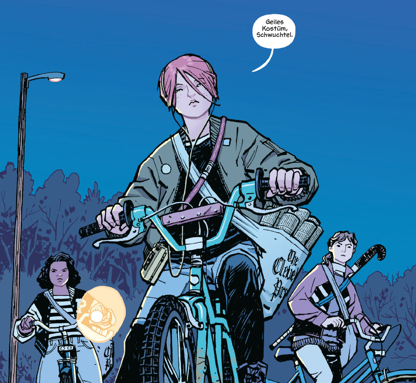 Paper Girls Comic Stranger Things Image Comic
