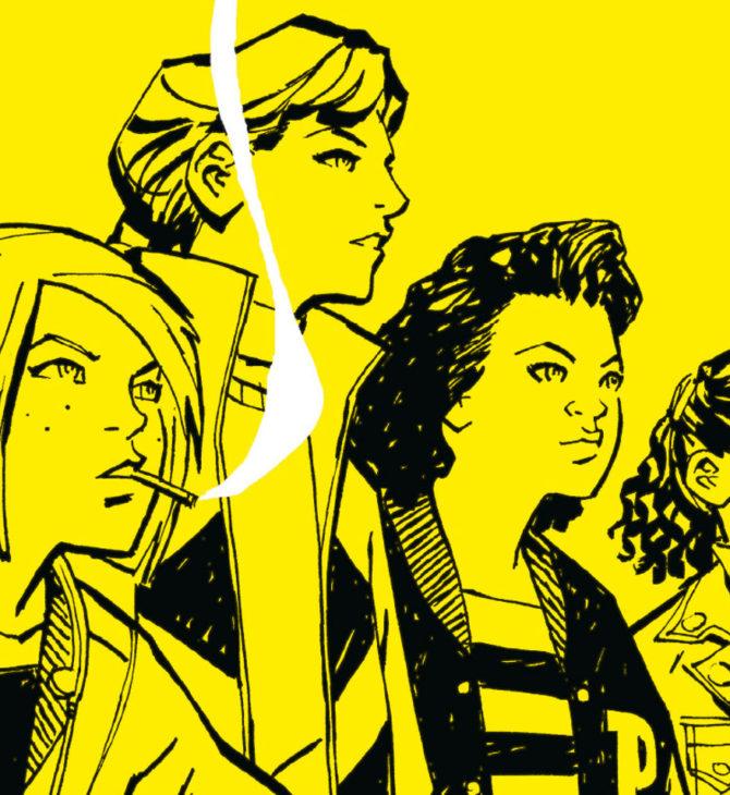 Paper Girls Comic Stranger Things Image Comic