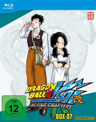 Dragon Ball Z Kai Box 7 Cover