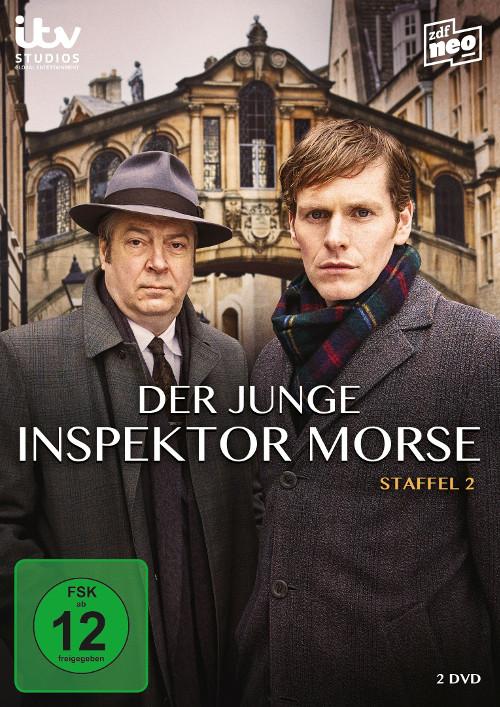 DVD-Cover Der Junge Inspektor Morse Staffel 2