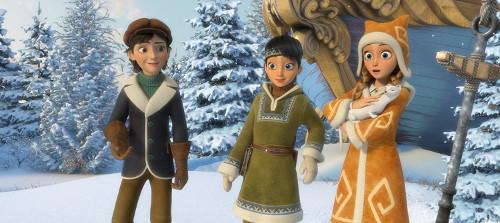 die Schneekönigin Szenenbild